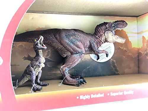 Lvnv ToysTyrannosaurus Rex Dinosaur Toy Action Figure Plastic Realistic Design For Boys