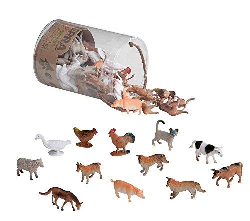60 Piece BPA Phthalate Free Farm Animals Set