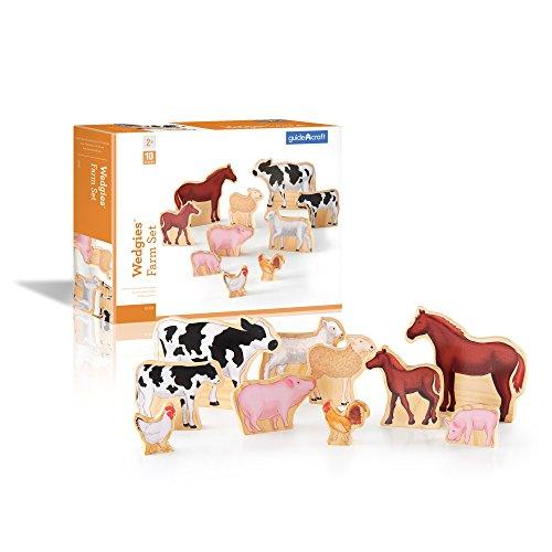 Wedgies Farm Animals Set Toys Christmas Gift