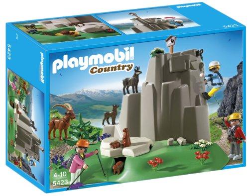 Playmobil Rock Climbers with Mountain Animals Playset
