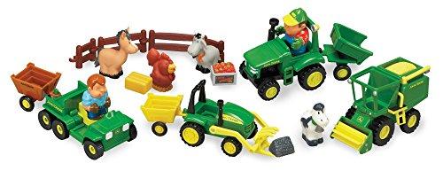 John Deere 1st Farming Fun Fun on the Farm Playset