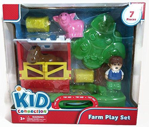 Kid Connection Farm Play Set