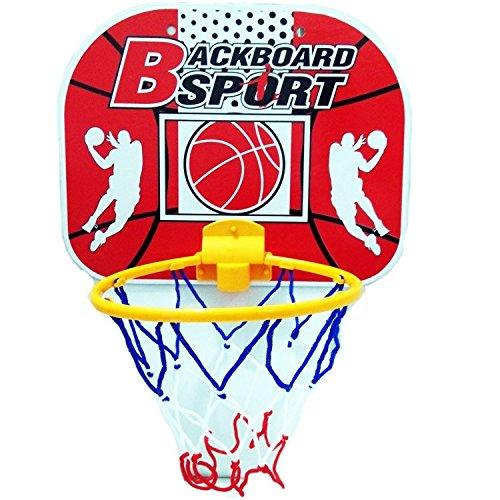 Kids sports indoor basketball rim Children Basketball shooting frame toy basketball hoop portable board set