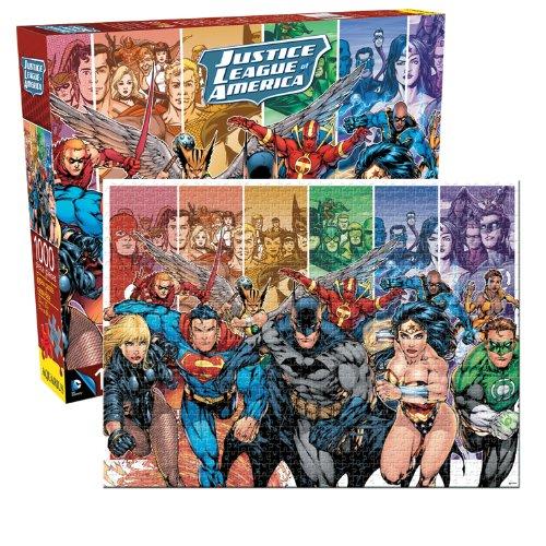 Justice League of America Jigsaw Puzzle 1000-Piece