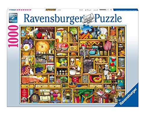Kitchen Cupboard Jigsaw Puzzle 1000-Piece