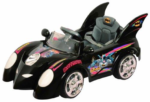 Best Ride on Cars 662R 6V Batmobile Black