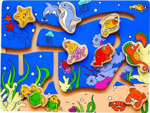 Maze Puzzle - Ocean Life