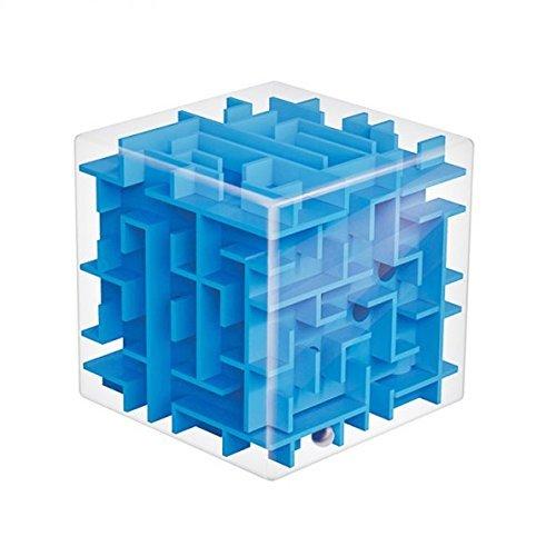 SainSmart Jr CB-21 Amaze Cube Maze Great Puzzle Box Gift for Kids Blue