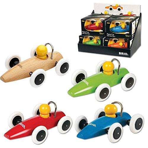 BRIO Wooden Race Cars 4 Piece Set 30077