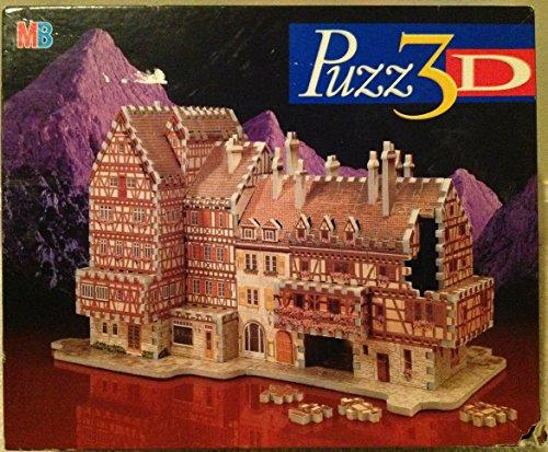 Milton Bradley Puzz 3D Bavarian Mansion  418 Pcs