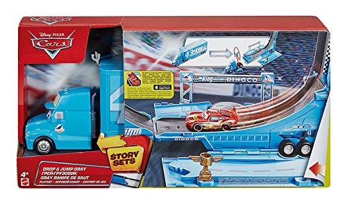DisneyPixar Cars Drop and Jump Gray Playset