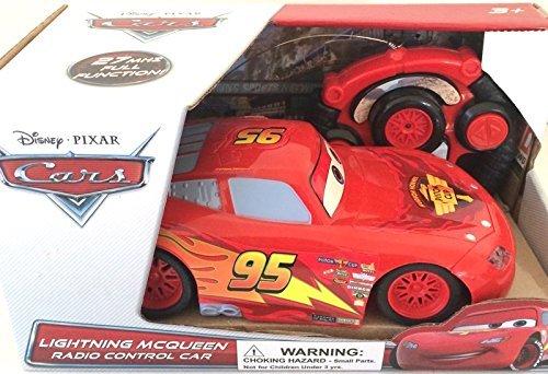 Disney Pixar Cars Lightning Mcqueen Radio Control Car