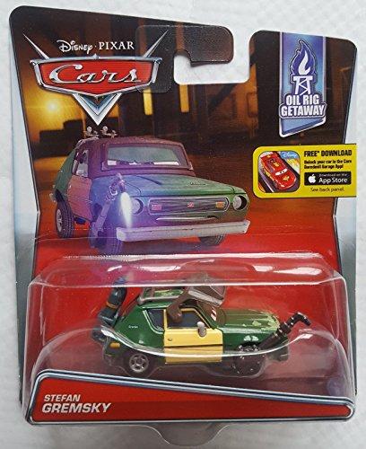 Disney  Pixar CARS 155 Scale Die Cast Car Stefan Gremsky Oil Rig Getaway Edition Mattel