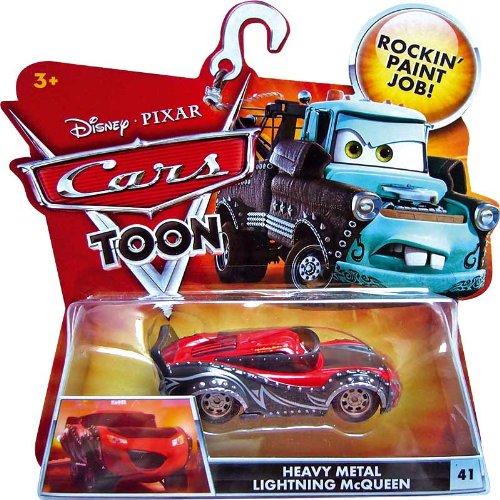 HEAVY METAL LIGHTNING MCQUEEN 41 Disney  Pixar CARS 155 Scale HEAVY METAL MATER Cars Toon Die-Cast Vehicle by Unknown
