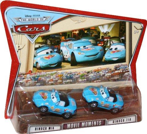 Movie Moments DINOCO MIA DINOCO TIA Disney  Pixar CARS 155 Scale Die-Cast Vehicle 2 Pack