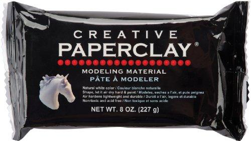 Creative Paper clay 8 Ounces White