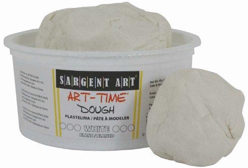Sargent Art 85-3196 1-Pound Art-Time Dough White