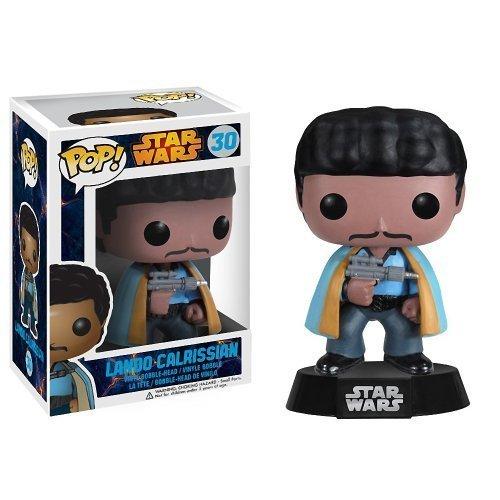 Lando Calrissian Funko POP x Star Wars Vinyl Bobble-Head Figure w Stand