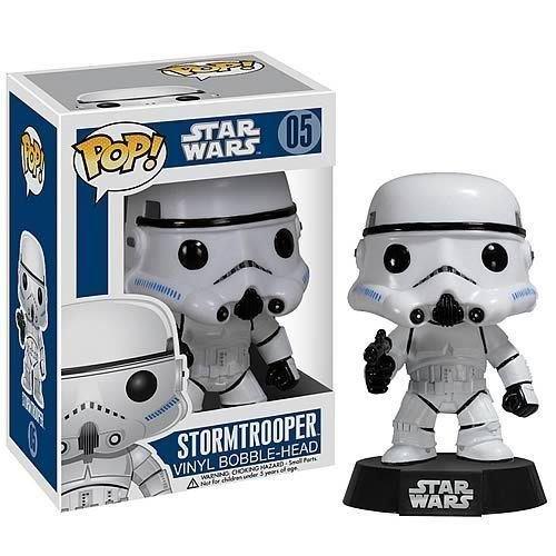 Stormtrooper Funko POP x Star Wars Vinyl Bobble-Head Figure w Stand