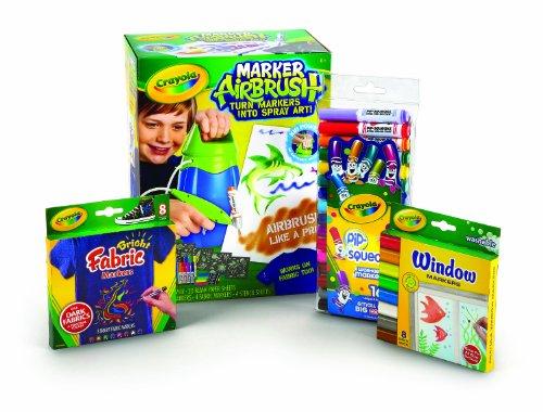 Crayola Marker Airbrush Sprayer Value Bundle