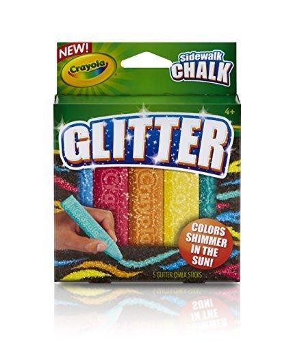 Crayola Special Effects Sidewalk Chalk - Glitter 2-Pack