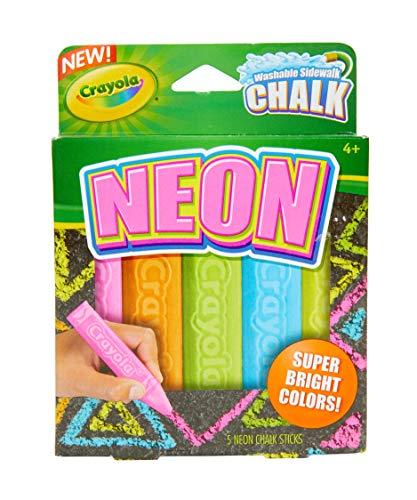 Crayola Washable Sidewalk Chalk Neon Chalk