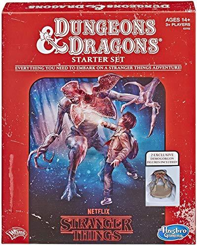 Hasbro Gaming Stranger Things Dungeons Dragons Roleplaying Game Starter Set