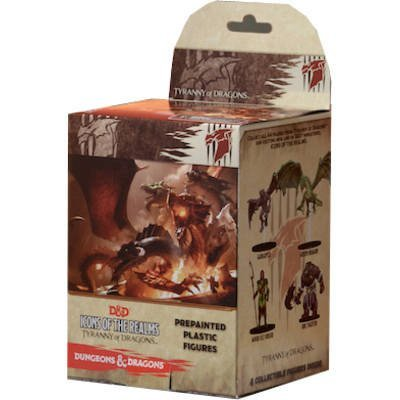 WizKids Dungeons Dragons Miniature Figurines - D&D Icons of The Realms Tyranny of Dragons Booster Pack
