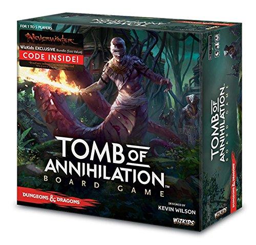 WizKids Dungeons Dragons Tomb of Annihilation Adventure System Board Game