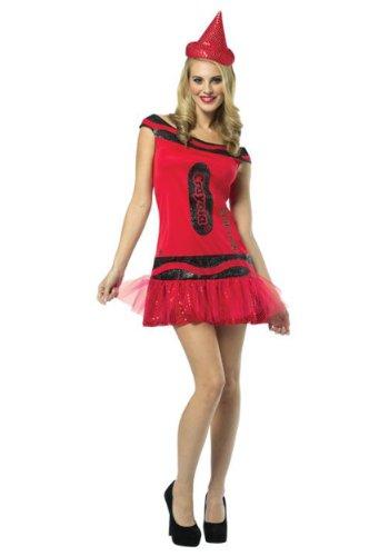 Crayola Glitz and Glitter Crayon Dress Costume - SmallMedium - Dress Size 4-10