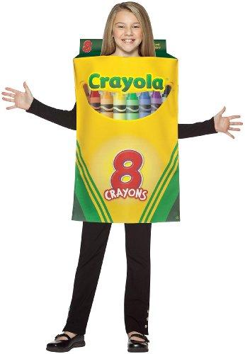 Crayola Crayon Box Child Costume - Fits sizes 7-10