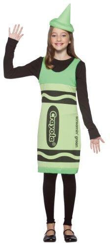 Crayola Crayon Tank Dress Costume - Tween