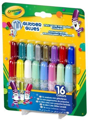 Crayola 16ct Washable Pip Squeaks Glitter Glue by Crayola
