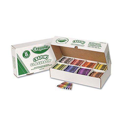 CYO528008 - Crayola Classpack Regular Crayons