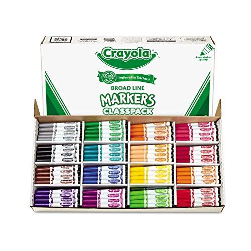 CYO588201 - Crayola Classpack Markers