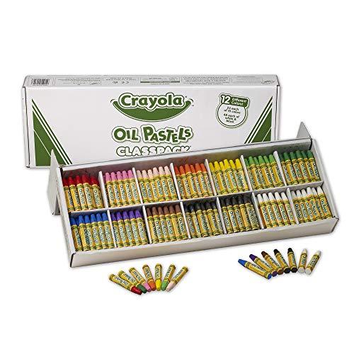 Crayola Oil Pastels Classpack 12 Brilliant Opaque Colors School Supplies 336Count
