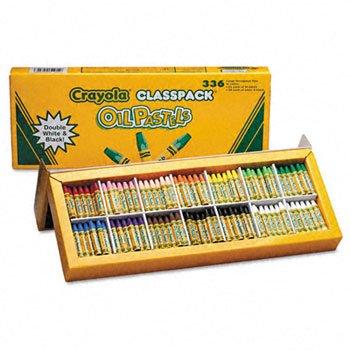 BINNEY SMITH Oil pastels classpack jumbo-sized stick wtapered point 336pack