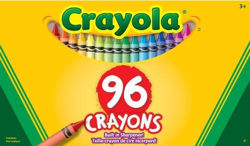 Binney Smith CrayolaR Standard Crayon Set Big Box Of 96