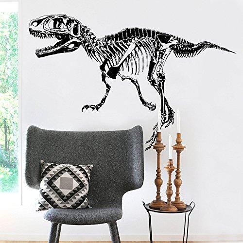AmaonmRemovable Creative Black Vinyl Dinosaur Sketch Wall Decals 3D Dinosaurs Wall art Decor Wall Stickers Murals Kids Room Boys and Girls Bedroom Living room Bathroom Decorations Decal Design 3