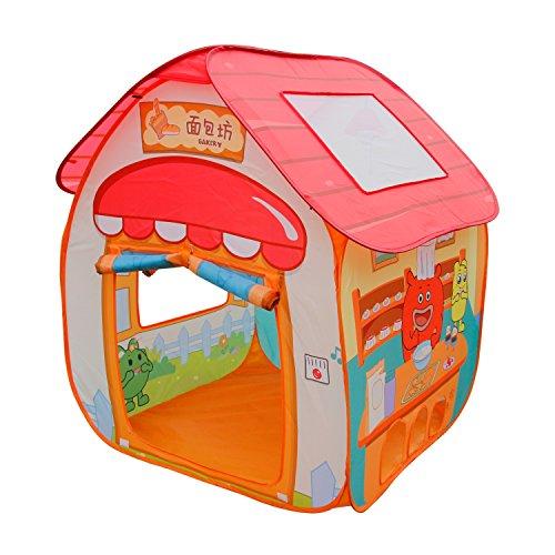 ALPIKA Play Tent Boys Girls GuliGuli Pop up Toys Kids Tent Indoor Outdoor Playhouse Children not Included Balls