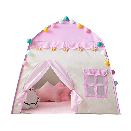 Play TentTent Play House3-4 Castle Play Tent for Boys ToddlersIndoor and Outdoor PlayhousePortable Pop Up Play TeepeeGift for Kids