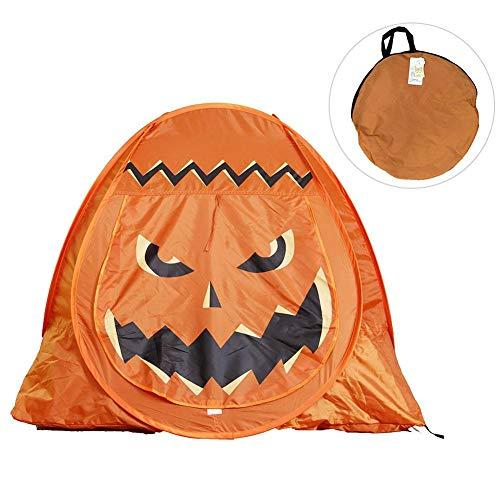 VGEBY Pumpkin Tents Festival Indoor Outdoor Playhouse Halloween Pumpkin Tent with Pop-Up for Children Game