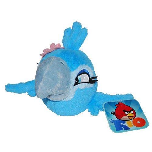 Angry Birds RIO 8-Inch Girl Jewel Bird with Sound