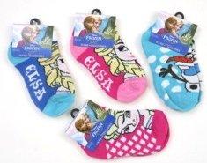 Frozen Elsa Anna socks four pair set size 6 - 8  girls valentines gift