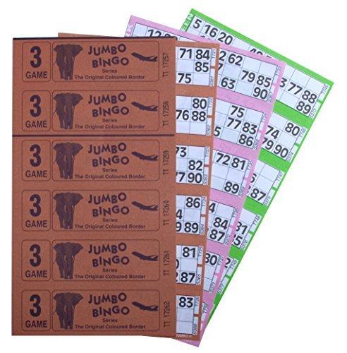 Bingo Tickets 750 3 Page 6 To View Bingo Books by Bingo House