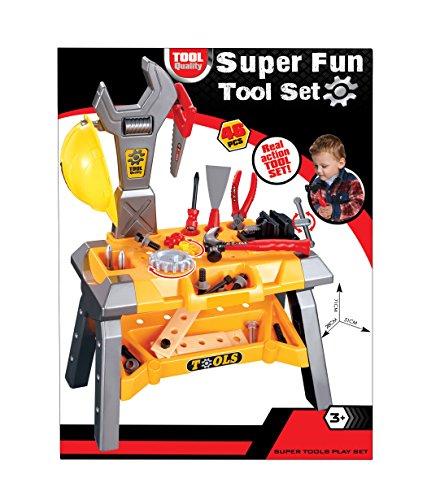 Super Fun Kids Tool Set Workshop Playset