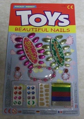 Pocket money toys beautiful nails