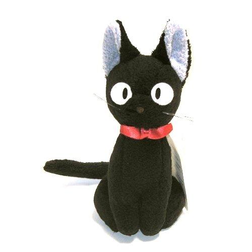 Kikis Delivery Service 55 Tall Kikis Black Cat Jiji Stuffed Doll Up Right