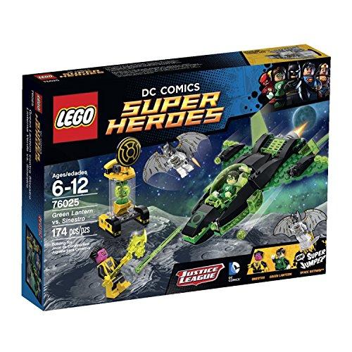 174 Pieces Green Lanterns Construct Spaceship Vs Sinestros Cage Building Set