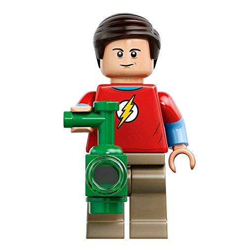 LEGO Ideas Big Bang Theory Minifigure - Sheldon Cooper with Green Lantern Lantern 21302